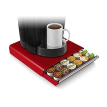 Mind Reader 36 Capacity K-Cup Single Serve Coffee Pod Storage Drawer (Red) - $25.08