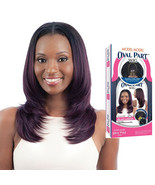 MODEL MODEL OVAL PART LAYERED CUT WIG SEAMLESS SYNTHETIC LONG HAIR - $26.95