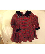 Toddler plaid dress size 4 Toddler - $8.00