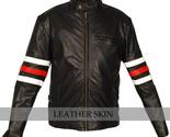Black leather jacket thumb155 crop