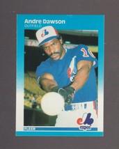 1987 Fleer # 316 Andre Dawson Montreal Expos NRMT  - $0.99