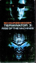 "VHS- Terminator 3 ""Rise Of The Machines - $7.00"