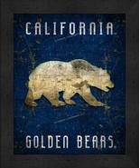 "California Golden Bears ""Retro College Logo Map"" 13 x 16 Framed Print  - $39.95"