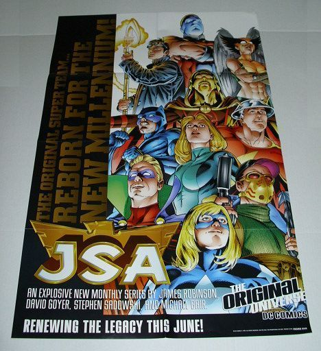 JUSTICE SOCIETY OF AMERICA/JSA COMIC POSTER 1:GREEN LANTERN