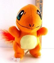 "Pokemon GO Nintendo Charmander 7"" Soft Plush Toy Factory Doll Stuffed U.S seller - $9.79"