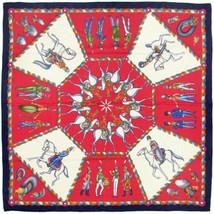 RARE Hermes Scarf ARMEE IMPERIALE RUSSE Vintage Silk Carre MICHEL DUCHEN... - $299.95