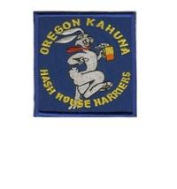 Hash House Harriers HHH Oregon Kahuna Hash House Club USA Patch 3.5 x 3.5 in  - $9.99