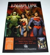 ALEX ROSS JLA KINGDOM COME FIGURE POSTER:SUPERMAN/HAWKMAN + - $40.00