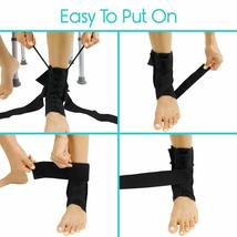 Vive Lace Up Ankle Brace - Foot Support - Size Medium (OPEN BOX NEW) USA----FL image 5