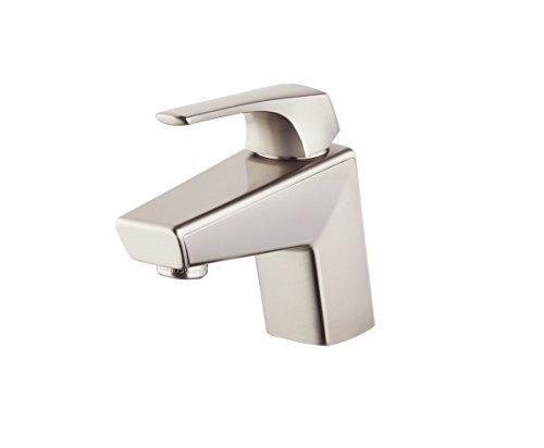 7 Faucet Finishes For Fabulous Bathrooms: Pfister LG42LPMK Arkitek Single Control 4 Inch Centerset