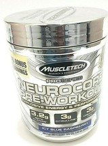 Muscletech NeuroCore, Icy Blue Raspberry Pre Workout, 33 Servings, Exp 0... - $17.72