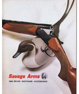 ORIGINAL Vintage 1968 Savage Arms Rifles Shotguns Catalog - $18.55