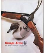 ORIGINAL Vintage 1968 Savage Arms Rifles Shotguns Catalog - $19.79