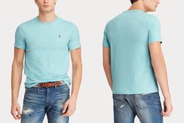 Polo Ralph Lauren Classic Fit Crewneck T-Shirt classic Blue Hether Size 3LT - $34.64