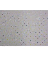 Spots and Dots White Orange Pink Cotton High Quality Fabric Material *3 ... - $1.79+