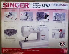 Singer 13012 Sewing Machine White 30 Stitch Function 12 BUILT-IN Patterns New - $145.70