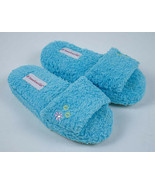 AMERICAN GIRL SMALL 1-3 HOUSE SLIPPERS MULES SHOES JESS RETIRED BLUE CHI... - $8.90