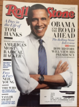 Rolling Stone Magazine November 8, 2012 - OBAMA And The Road Ahead - $2.00