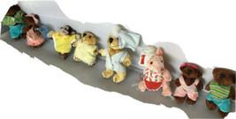 Mattel Furryville Bears Monkey Pig set L03 - $14.84