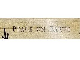 Christmas Stockings and Peace on Earth Rubber Stamps, Set of 2 image 3
