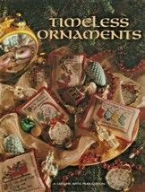 "Hard Covered Book - ""Timeless Ornaments"" - Leisure Arts - Gently Used - $18.00"