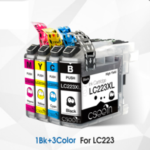 Compatible Ink Cartridge LC223 LC 223 LC223XL for DCP-J562DW DCP-J4120DW - $32.70
