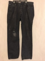 Men's Kenneth Cole Reaction Size 32X 30 Black Denim J EAN S Ships N 24h - $14.83
