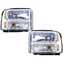 Fits 05  Excursion;05-07  Superduty (except Harley) L&R Headlamp Assys - $164.19