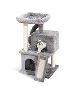 PAWZ Road Cat Tree Luxury Cat Tower with Double Condos, Spacious Perch, ... - $67.66
