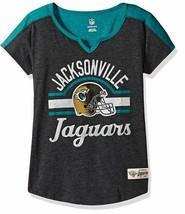 "NFL Girls 7-16"" Tribute Football Tee - Jacksonville Jaguars - Youth Large (14) - $14.48"