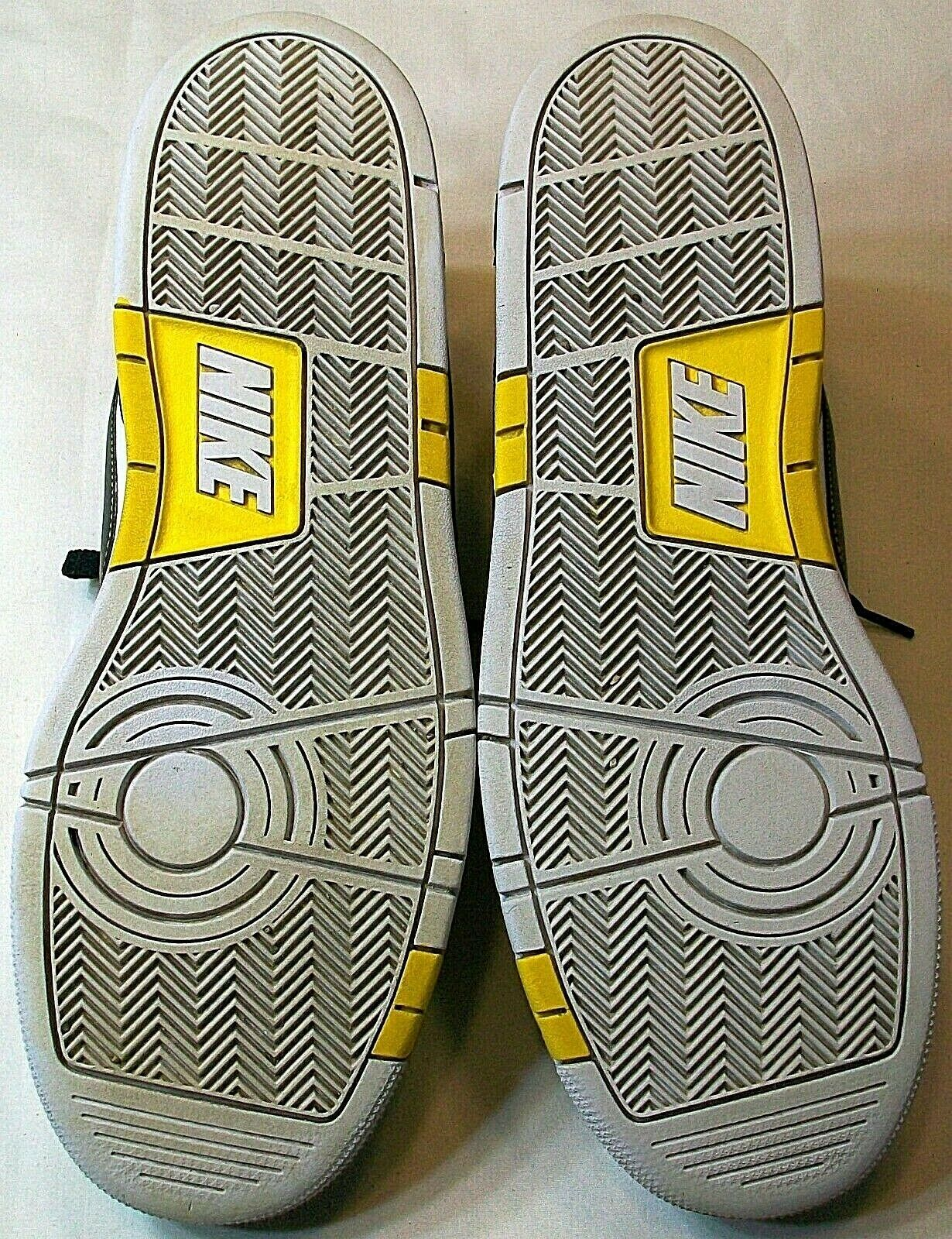 Nike Air Prestige III Men's Size 15 386114-117 White Black Yellow Very Good Used