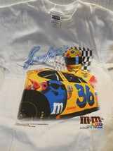 1999 M&M's Nascar Racing Ernie Irvan Tultex White T-Shirt Mens Large Unworn - $6.95