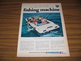 1970 Print Ad Evinrude 19-Foot Sport Fisherman Boats Milwaukee,WI - $13.96