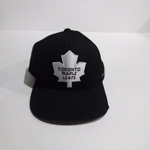 Toronto Maple Leafs NHL Reebok Face Off Black Snapback Hat - $23.74