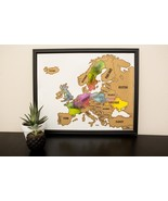 Scratch Your Travels® Europe Region  Map - $29.99