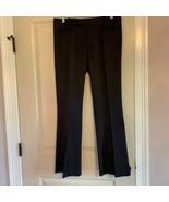 EUC GUCCI Gray Pinstripe Wool Flared Leg Trouser SZ IT 46/US 10 TOM FORD... - $247.50