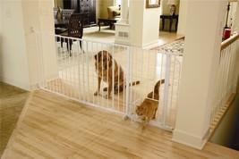 Carlson Maxi Walk-Thru Gate with Pet Door - $79.99