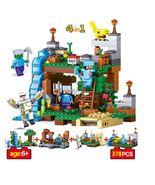 Minecraft MY WORLD building block Bricks Toys Children Gift  - $34.00