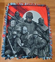 Star Wars New Light and Dark Side Fleece Tie Blanket - $69.99