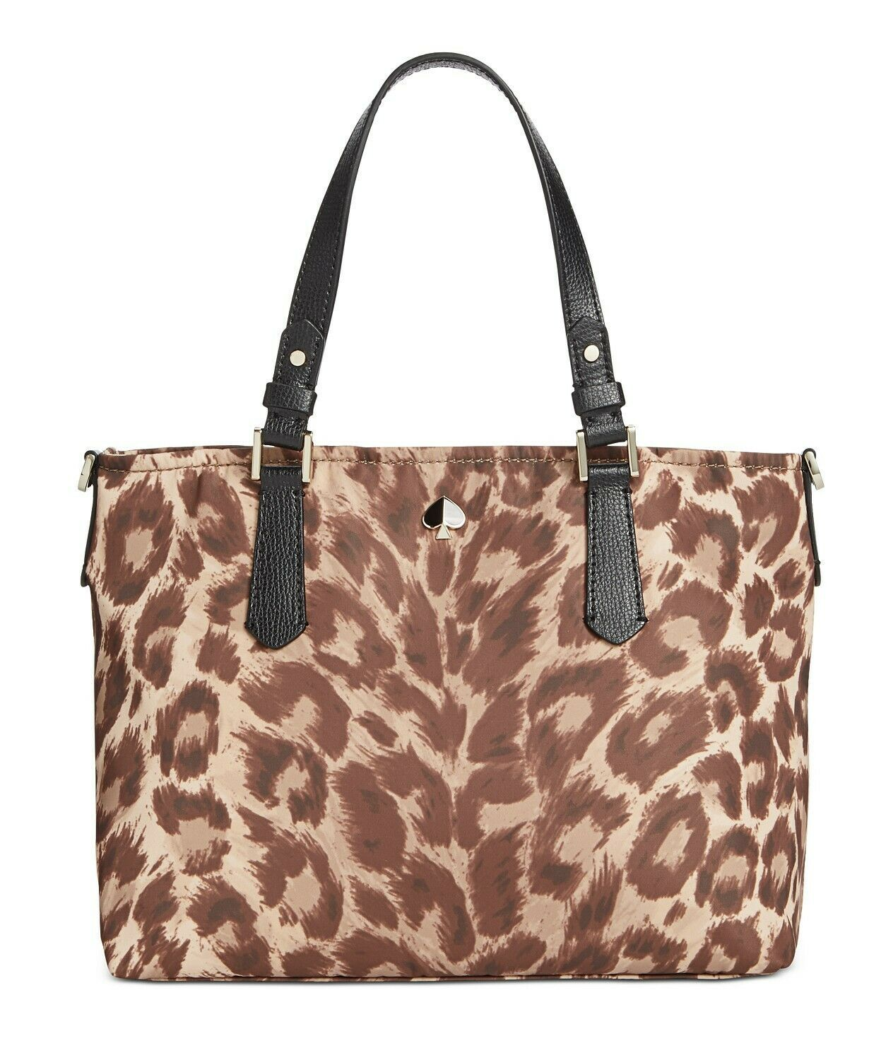 Primary image for Kate Spade Taylor Leopard Nylon Satchel Crossbody Tote ~NWT~