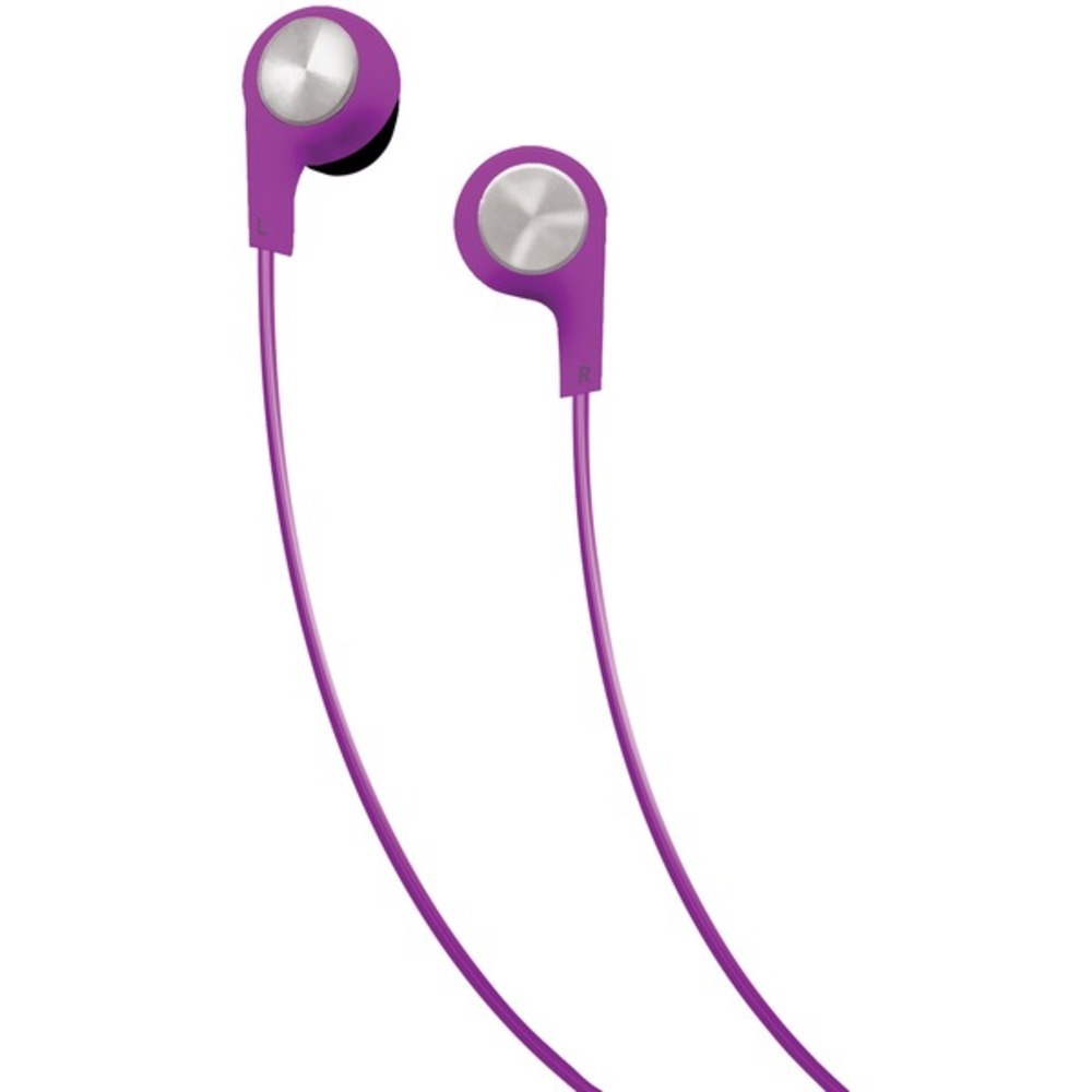 Primary image for Maxell 199730 Bass 13 Heavy-Bass In-Ear Earbuds with Microphone (Purple)