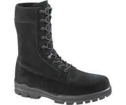 "Bates E01778 Women's 9"" US Navy Suede DuraShocks Steel Toe Boot, Black, 8.5 W - ₹11,805.81 INR"