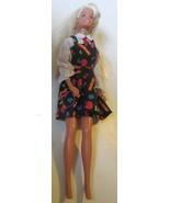 Barbie blonde doll redressed as School TEACHER, wearing dress only - $15.99