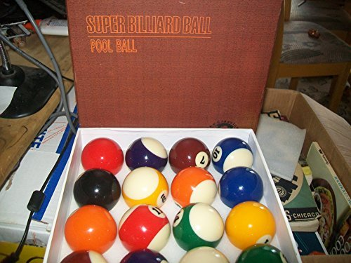 "Primary image for Super Billiard Ball Pool Ball Set ""Classical Tournament Set"""