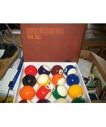 "Super Billiard Ball Pool Ball Set ""Classical Tournament Set"" - $255.00"
