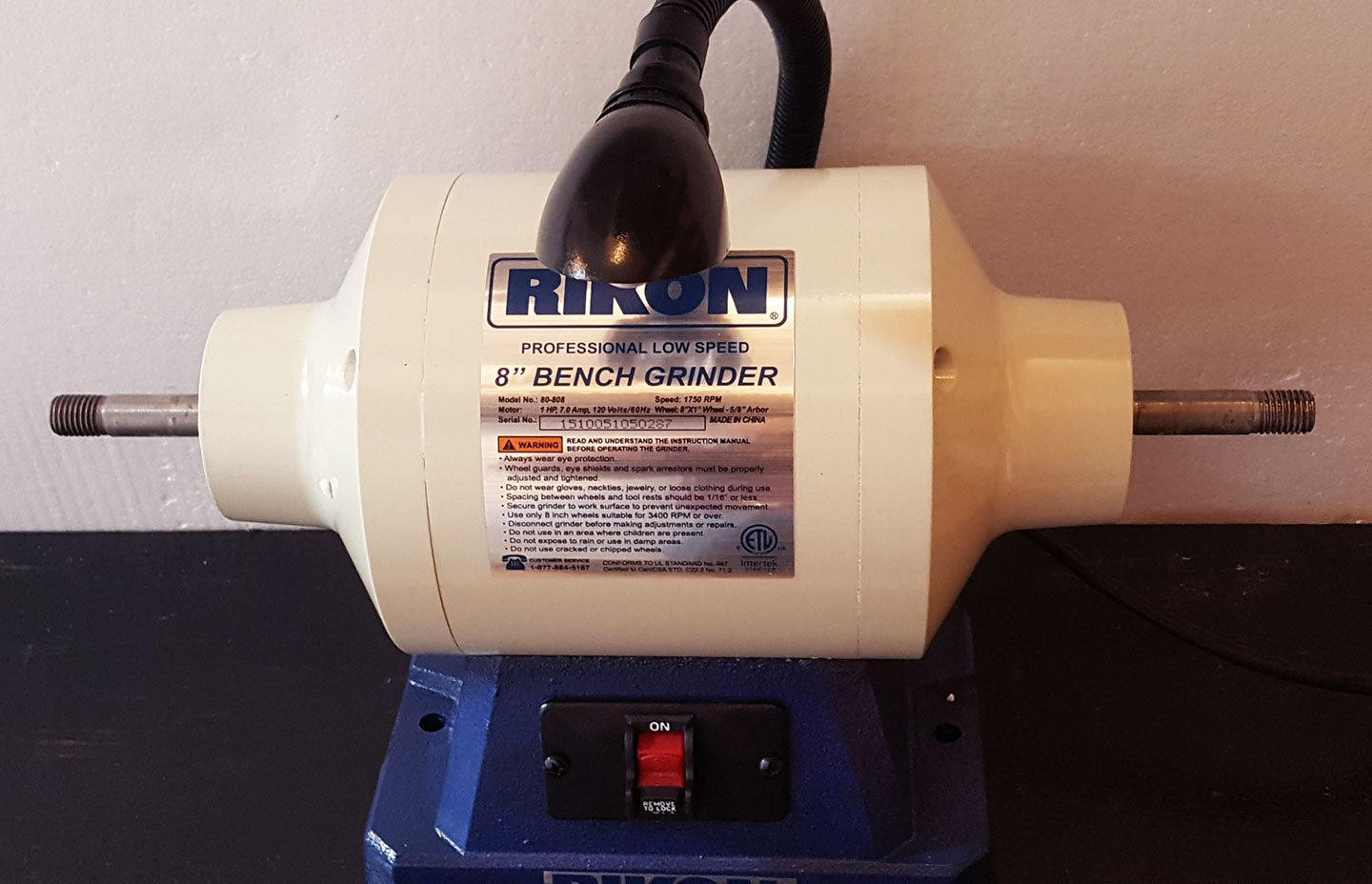 Primary image for Rikon Grinder - New 1hp