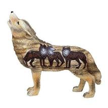 Pacific Giftware The Wolf Spirit Collection Aardwolf Wolfpack Collectible Figuri - $21.99