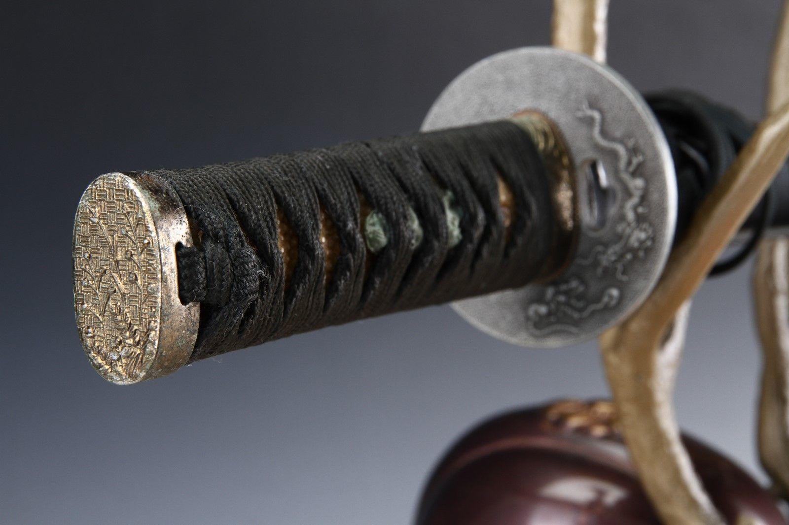 Japanese Beautiful Samurai Helmet -shikanosuke kabuto- with a Replica Blade image 8