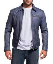 Need For Speed Aaron  Paul Biker Knockoff  Men Leather Jacket