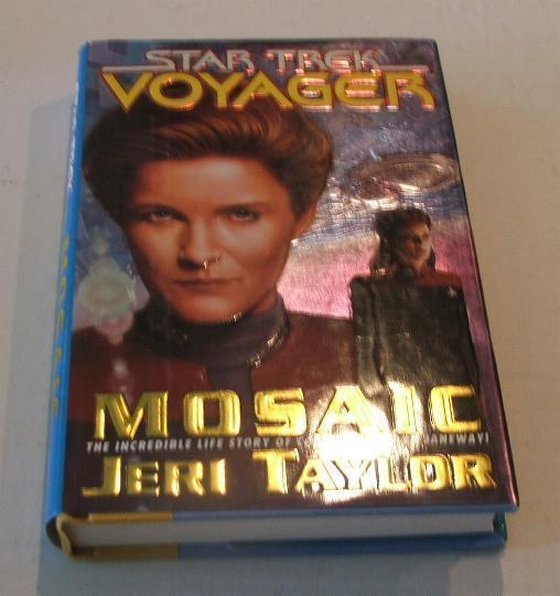 Star Trek Voyager Mosaic Hardcover Book
